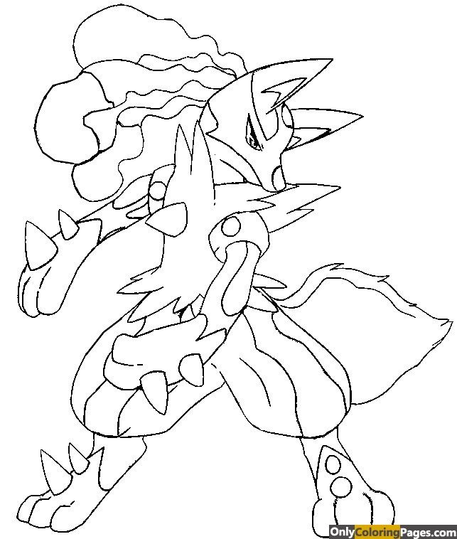 Pokemon Coloring Pages Mega Lucario Pokemon Coloring Pages Pokemon Coloring Moon Coloring Pages