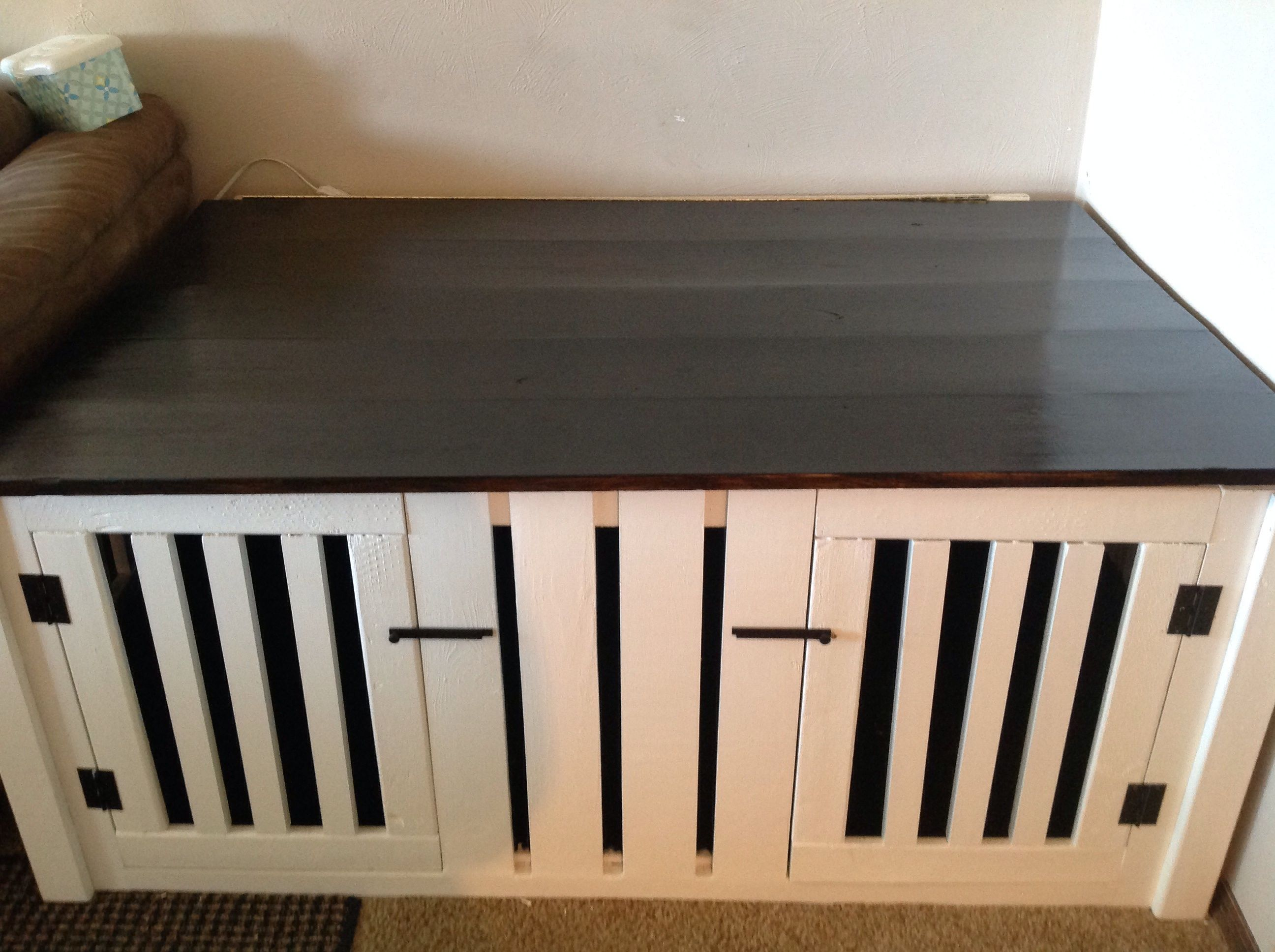 Double Dog Coffee Table Crate Do It Yourself Home