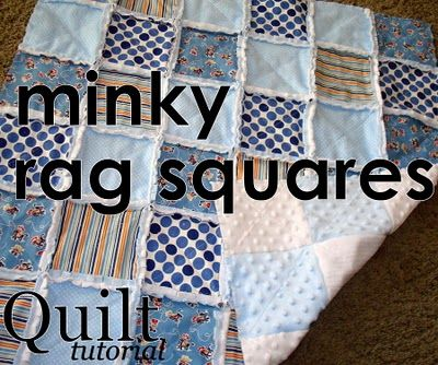 File This One For Sure Sewsara Minky Rag Squares