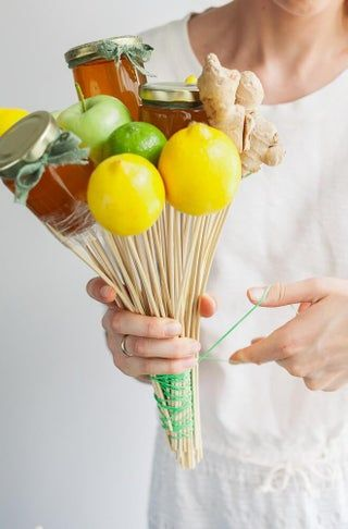 Photo of How to Make Edible Arrangement With Ginger, Lemon and Honey