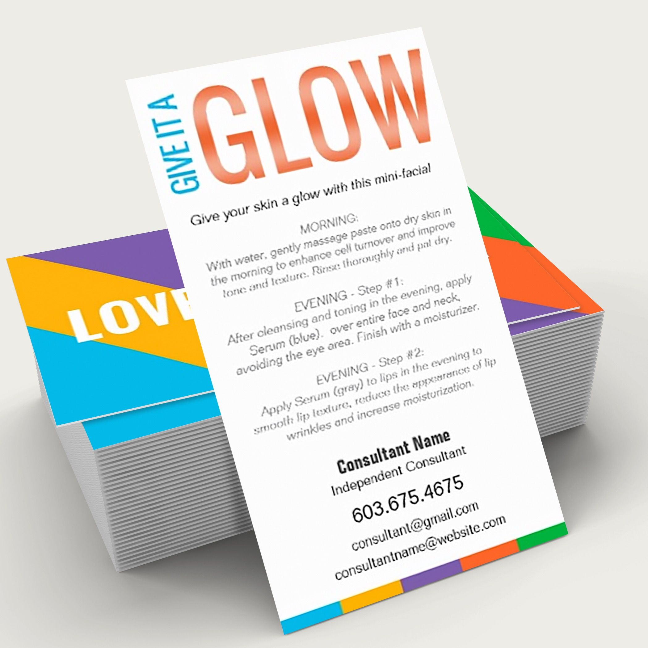 Give it a glow mini facial. Kindly visit itwvisions.com. #randf ...