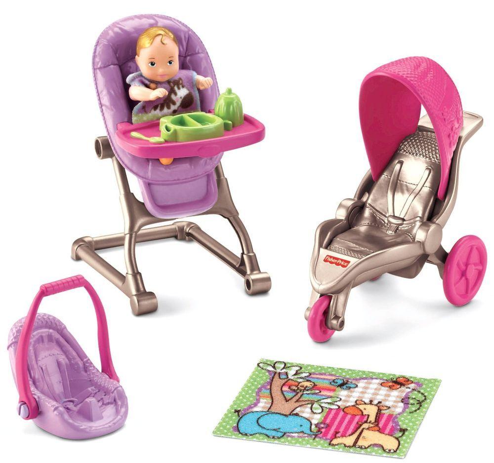 Baby Doll Accessories Girl Kids Toy Stroller Blanket Play Children Kit Mini Set  #NA