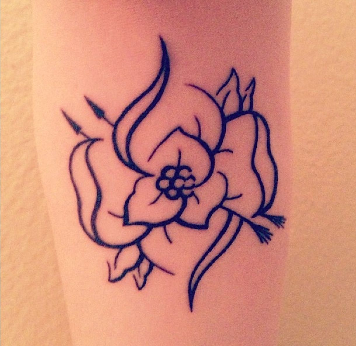 My La Dispute Flower tattoo Myself Pinterest