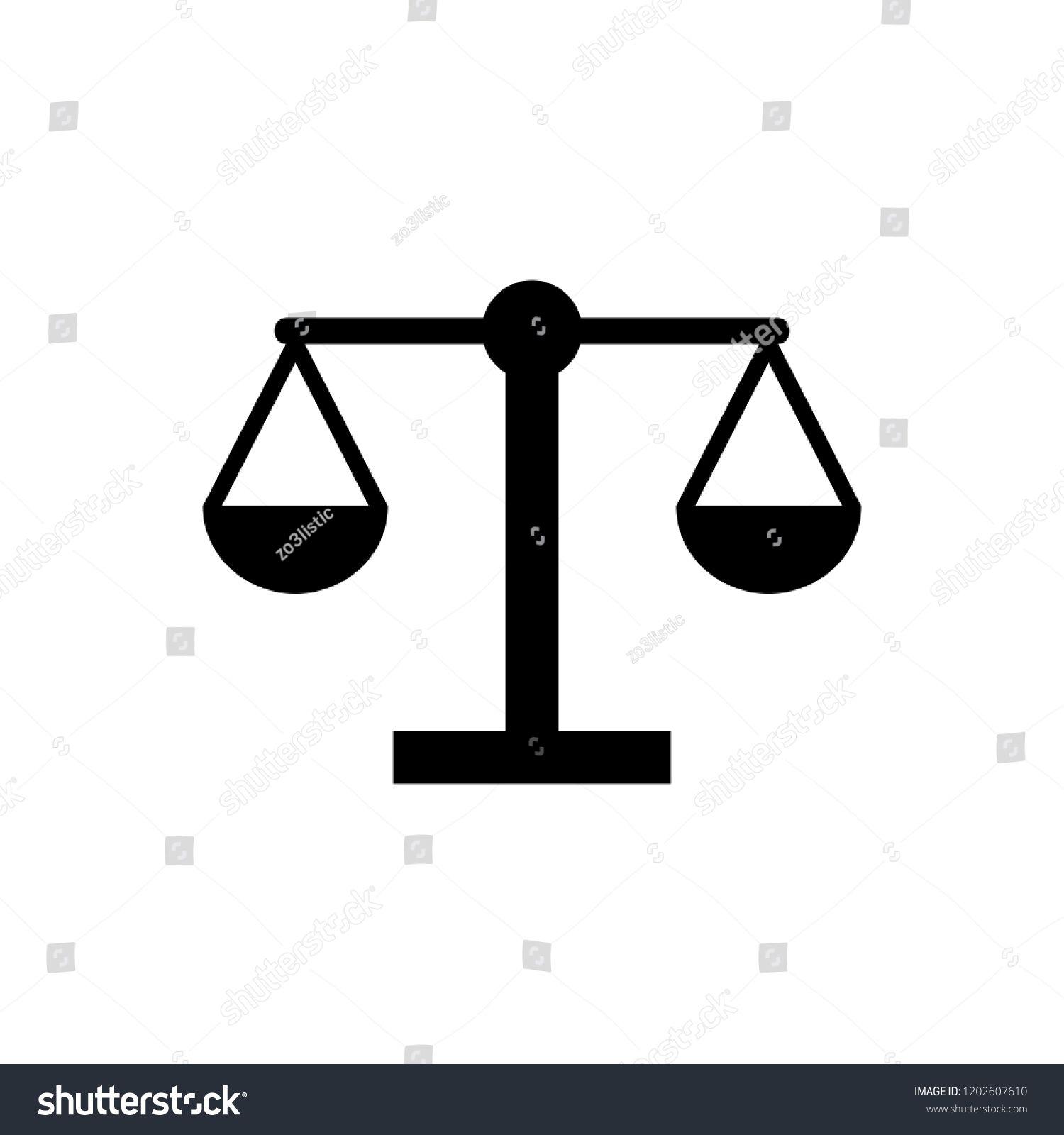 Scale Icon Law Scale Vector Icon Justice Symbol Sponsored Spon Law Icon Scale Scale Vector Icons City Illustration Justice Symbol