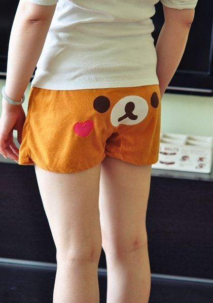 San-x Rilakkuma Women Sleepwear Shorts Pants Fleece from Kawaii BB · Storenvy $17.75