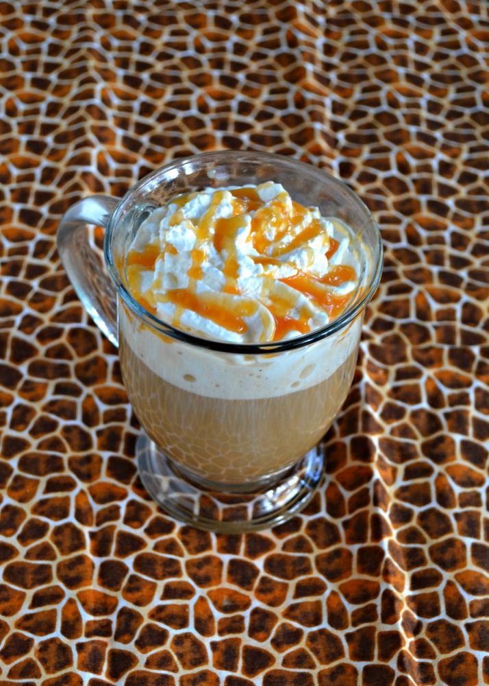 Easy Caramel Vanilla Latte with NESCAFÉ Recipe