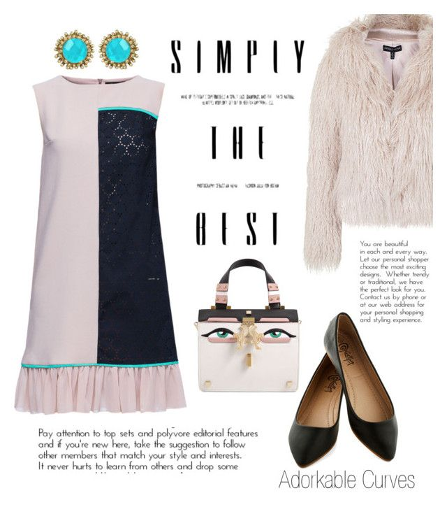 """""""Ich liebe dich! ♡"""" by adorkable-curves on Polyvore featuring Lattori, Topshop, Giancarlo Petriglia and Kendra Scott"""