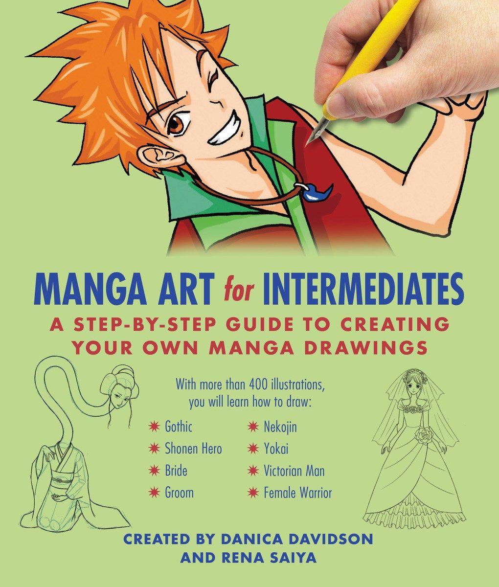 Manga Art For Intermediates Manga Art Manga Drawing Anime Book