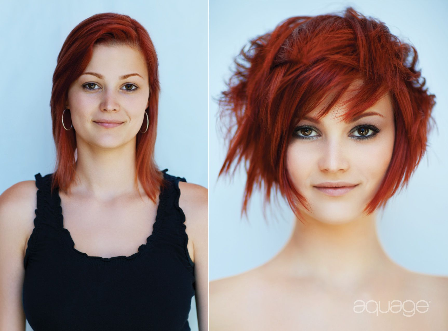 Transforming Spray Long To Short Hair Short Hair Styles Hair Makeover