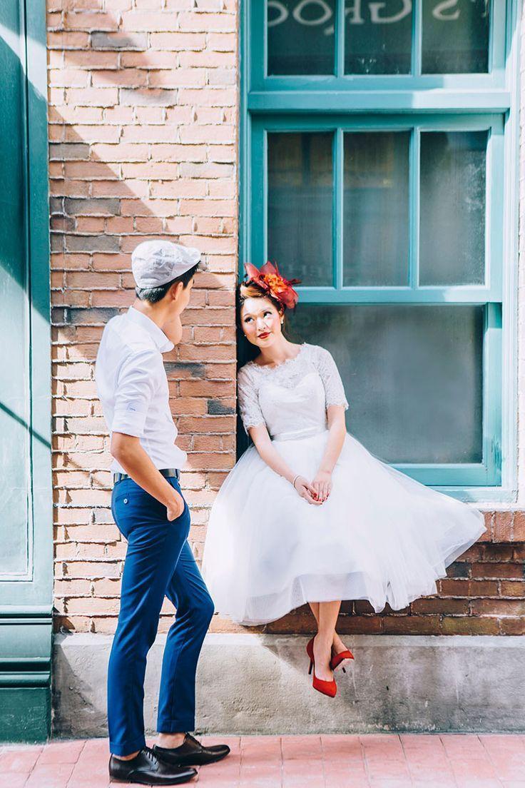Retro Pre Wedding Styled Shoot at
