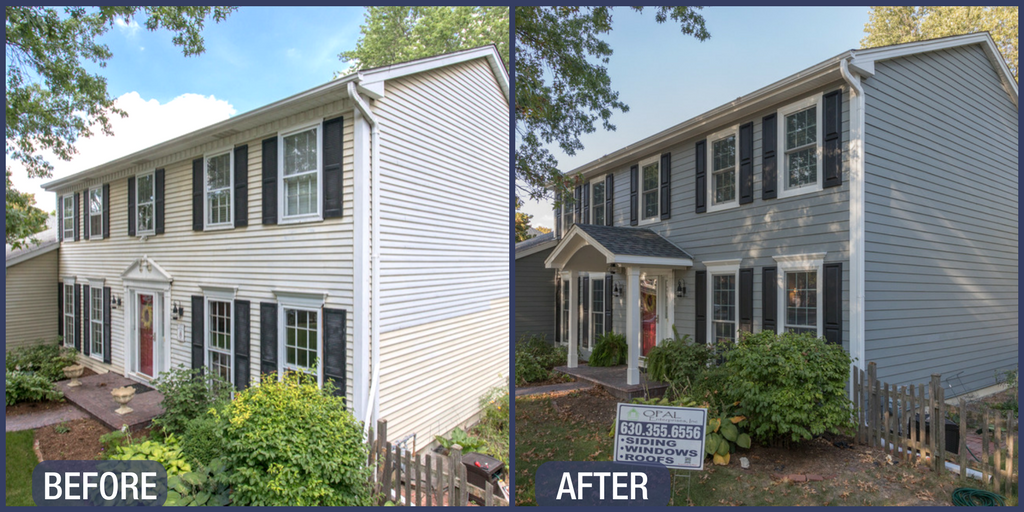Wonderful New Windows And Siding In Naperville House Exterior Windows Siding