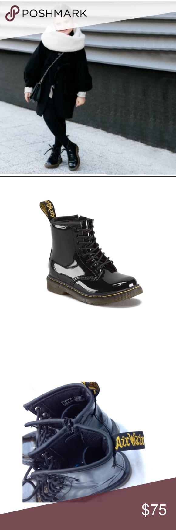Doc Marten Junior Patent Leather 1460