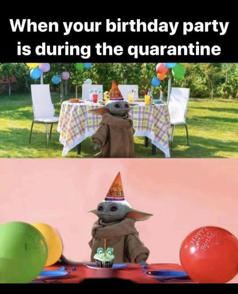 Pin By Scentbars On Baby Yoda Funny Happy Birthday Meme Funny Birthday Meme Happy Birthday Meme