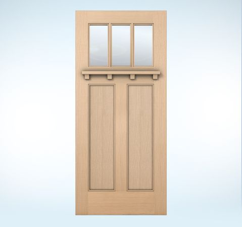 Jeldwen 6203 Exterior Doors Authentic Wood Glass Panel Dveri