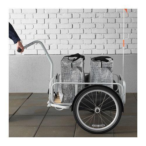 Sladda bicycle trailer bicycling and ikea shopping for Ikea sladda bike