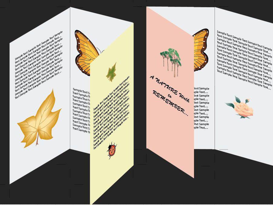 How To Make A Brochure In Adobe Illustrator How To Make Brochure Illustrator Tutorials Brochure