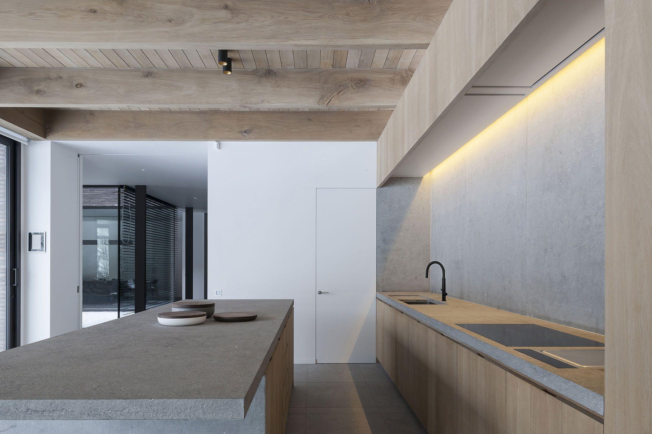 ontwerp vincent van duysen architects uitvoering