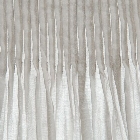 Curtains: Pretty pleats in cotton voile at Le Monde Sauvage - Rideau ...