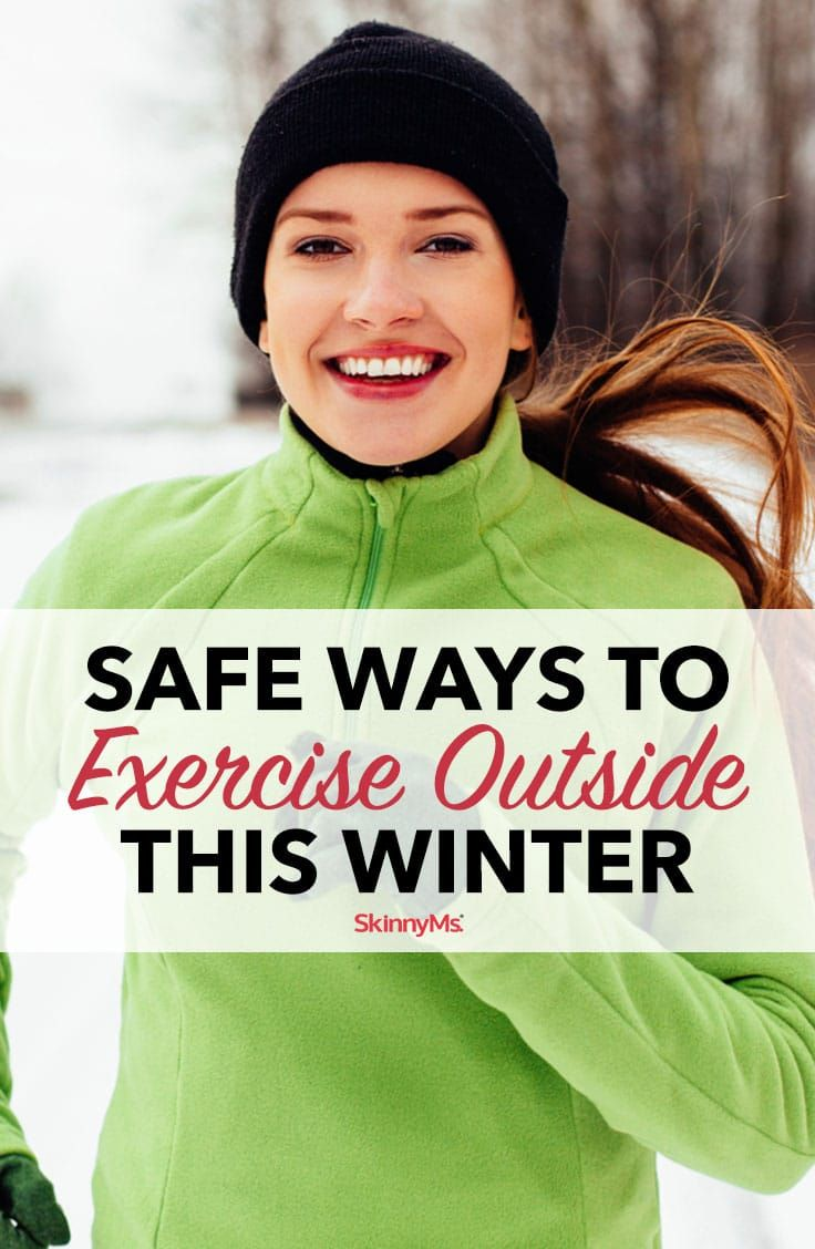 Put these safe ways to exercise outside this winter into practice and stay warm, healthy, and on the...