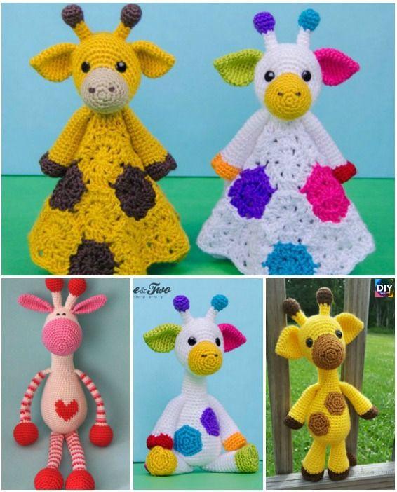 Cute Crochet Giraffe Amigurumi Free Pattern Giraffe Amigurumi