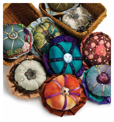 Fancy Fabric Embellishments: Stuffed Yo-yos for Pinning or Wearing - Quilting Daily - Blogs - Quilting Daily