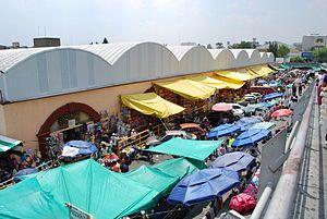 Mercado de Sonora market in mexico city