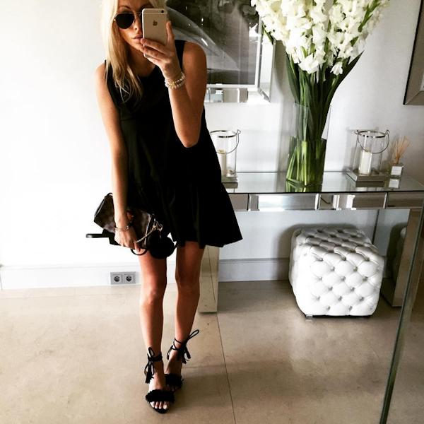 Dominica888 Instagram Fashion Style Little Black Dress