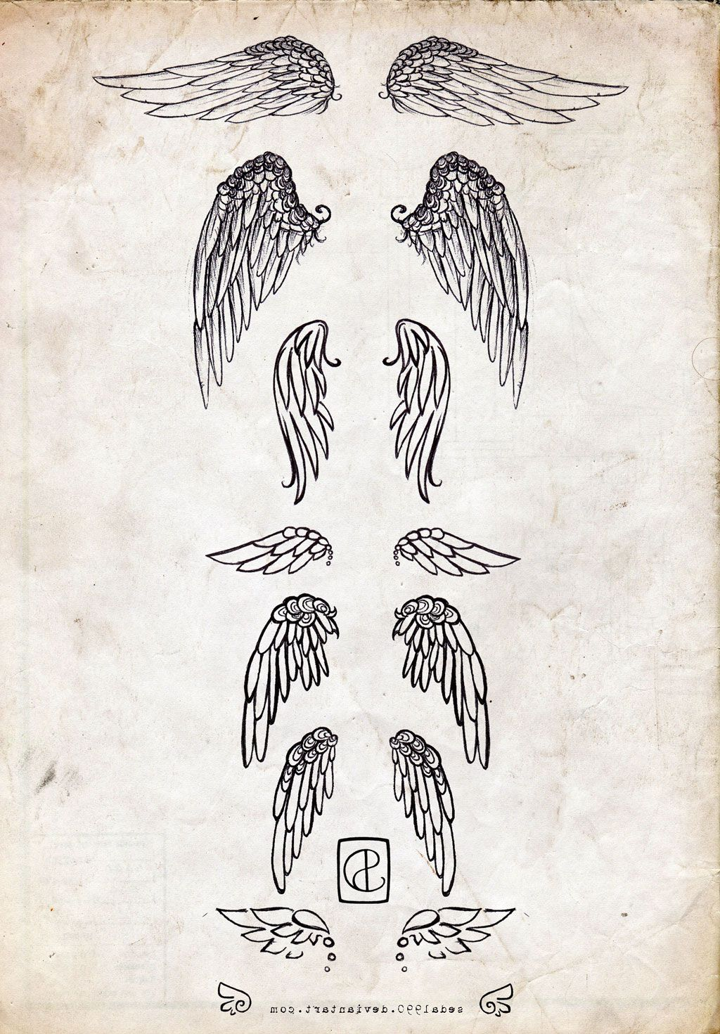 The 25+ Best Small Angel Wing Tattoos Ideas On Pinterest