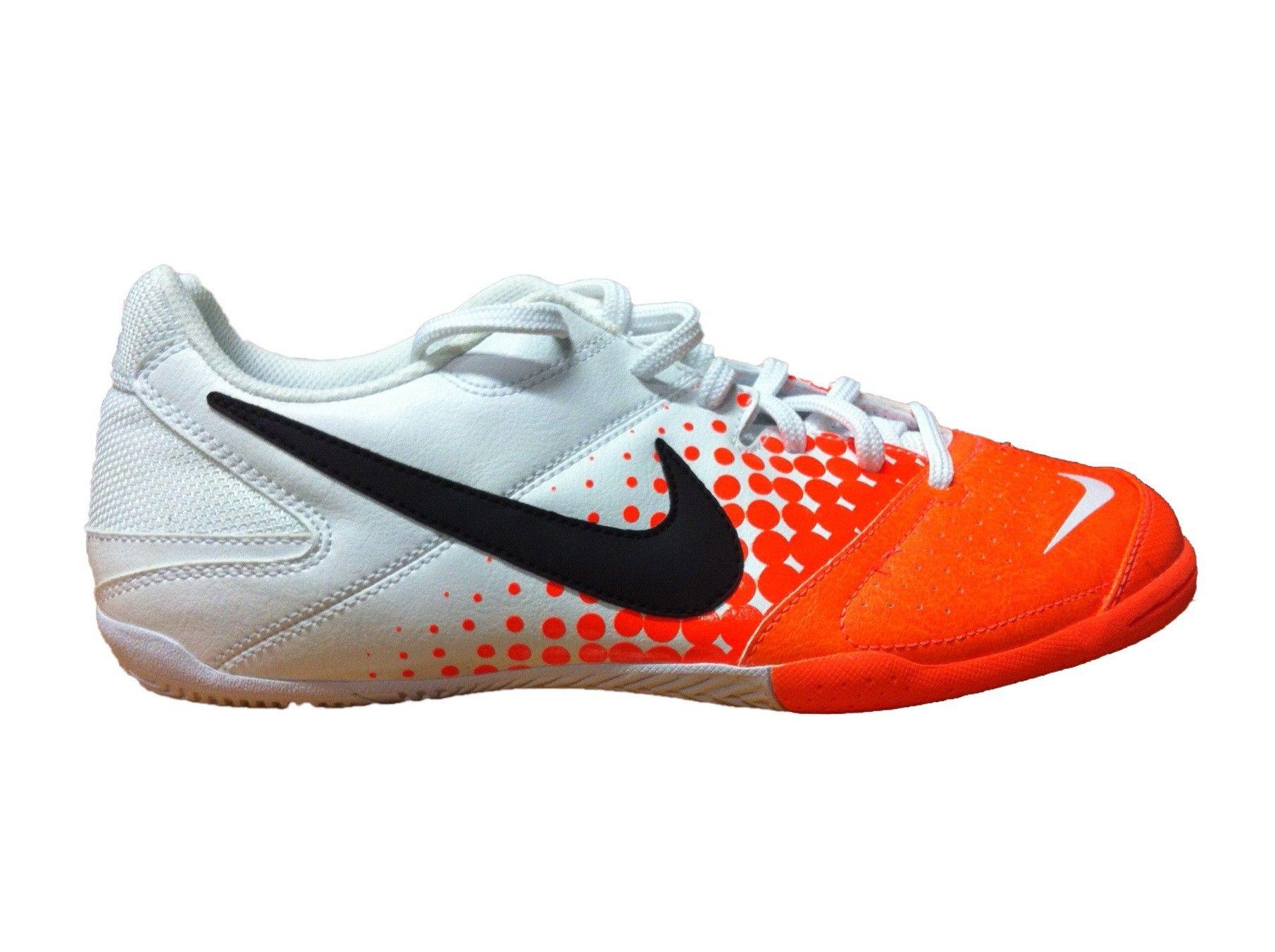 finest selection f00c2 a8d8b NIKE 5 ELASTICO (Blanca-Naranja) - Fútbol Sala - Calzado - Hombres