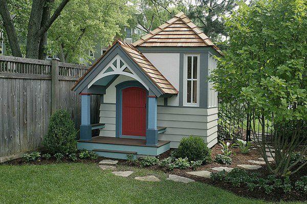 La cabane de jardin pour enfant est une idée superbe pour votre - Plan De Maison Originale