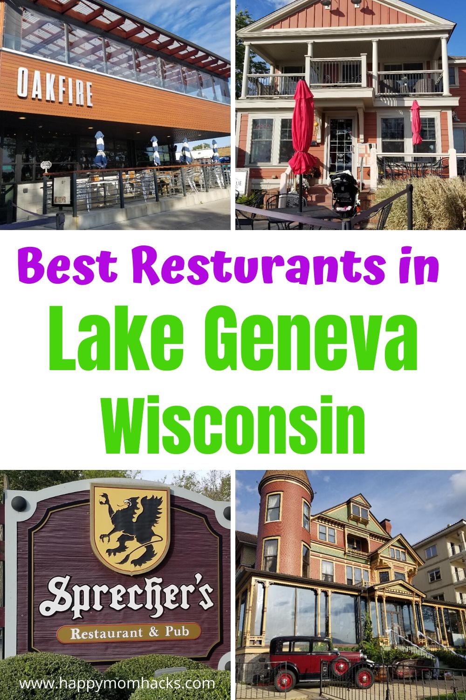 Guide to Best Restaurants in Lake Geneva Wi Lake geneva