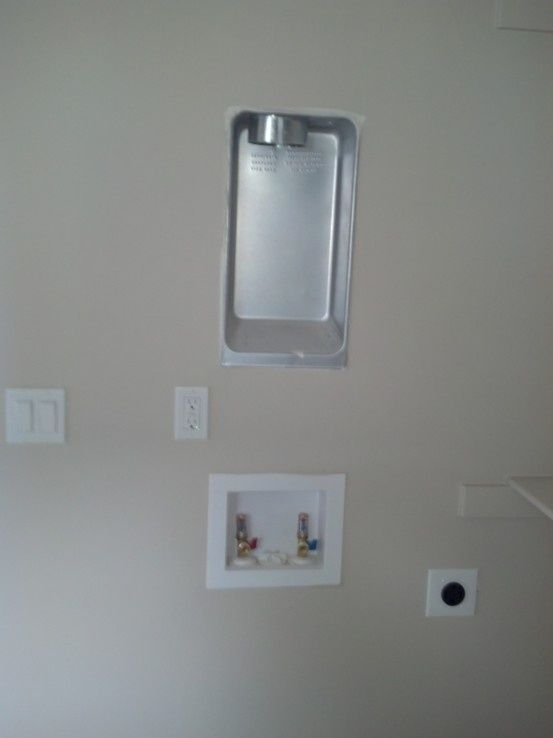 Dryer Vent Wall Plate Delectable Washer Dryers Stackable Full Size Washer And Dryer  Laundry Room Inspiration Design