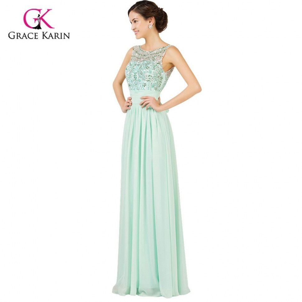 12 Mint Kleid Lang in 12  Kleider für bälle, Langes abendkleid