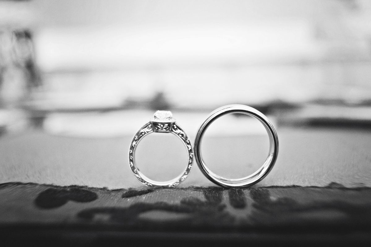 With this ring I thee wed Photo by Jeannine weddingrings