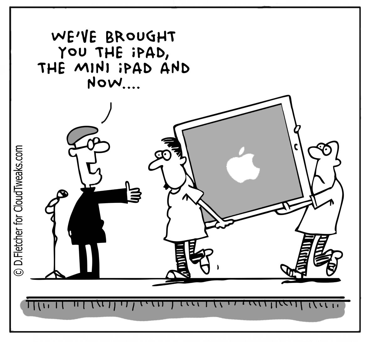 The Lighter Side Of The Cloud Funny Ipad