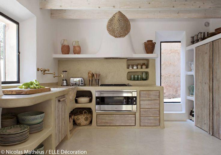 innenbesichtigungen von häusern wohnungen und lofts elle decoration küche selber bauen on outdoor kitchen ytong id=91061