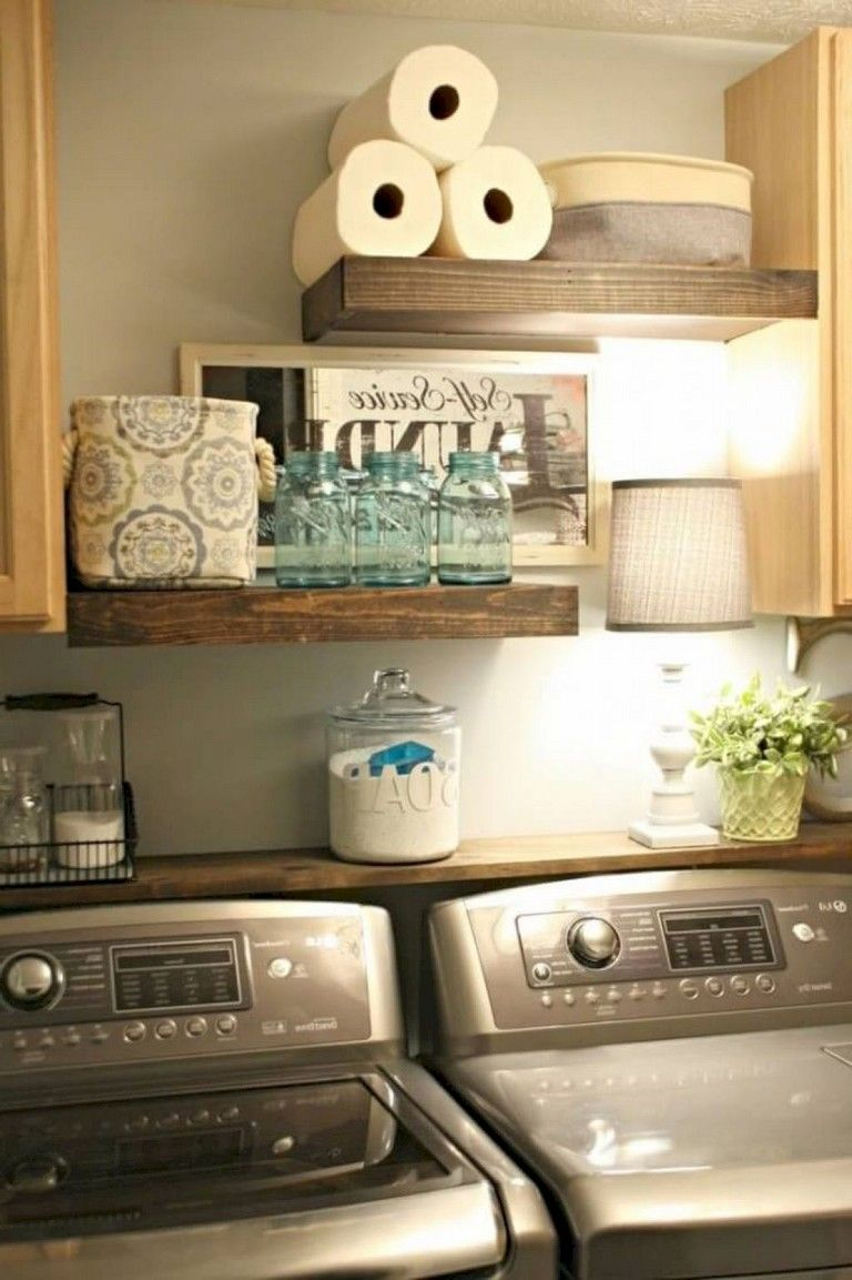 25 nice modern farmhouse laundry room design ideas on extraordinary small laundry room design and decorating ideas modest laundry space id=45409