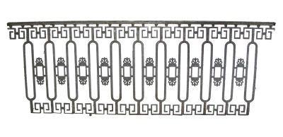 Oriental Style Wrought Iron Fence Parts Google Search Wrought