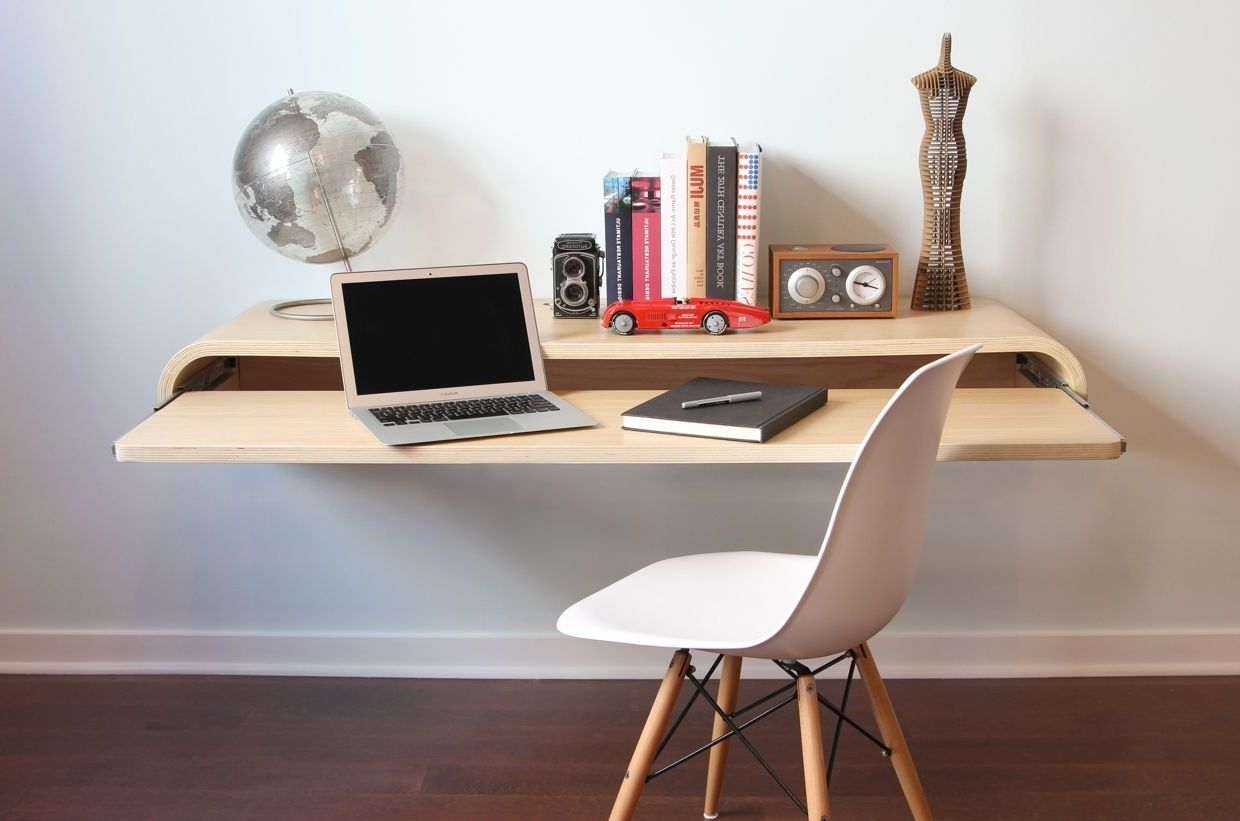 21 Best Wall Mounted Desk Designs For Small Homes Wall Mounted