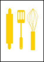 Free Printable Card With Baking Supplies And Scrap Rolling Pin And Whisk Png Ausdruckbare Karte Mit Backmotiven Nudelholz Und Schwingbesen Clipart Freebie Free Printable Cards Clip Art Freebies Printable Cards