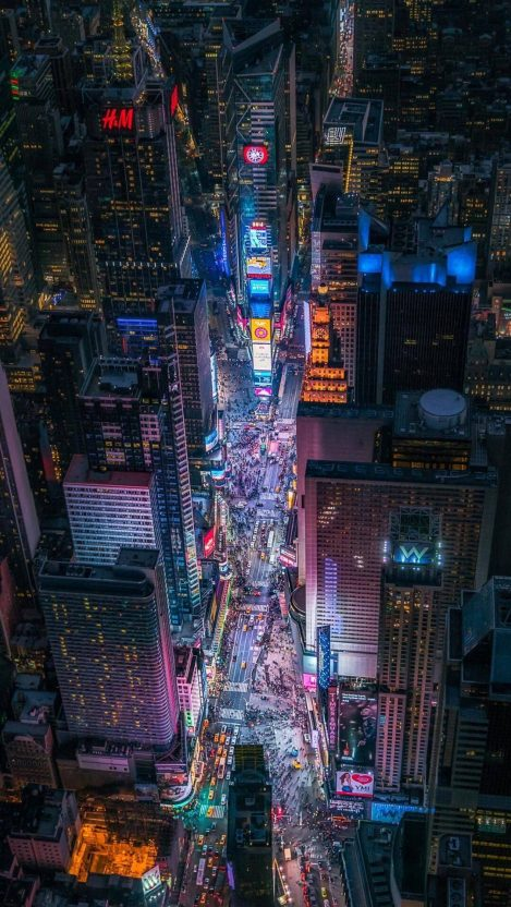 Times Square New York Iphone Wallpaper Free Getintopik City Wallpaper City Photography Art Wallpaper