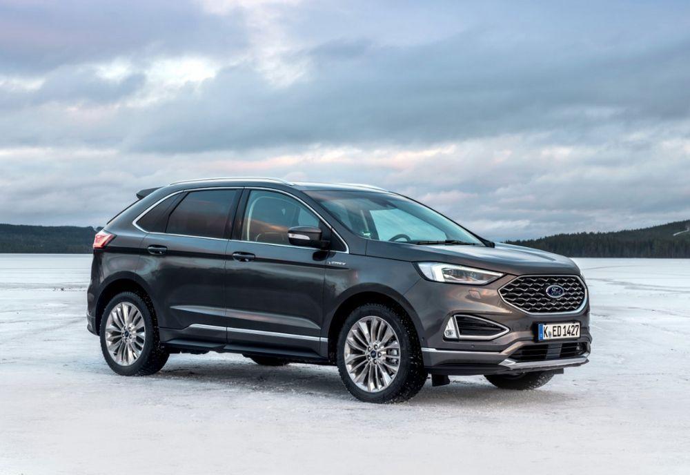 El Nuevo Ford Edge Utiliza Inteligencia Artificial Para Mejorar La