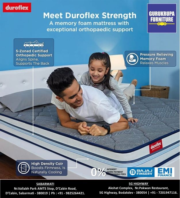 Need To Get Your Back Strength Back Try Duroflex Strength Living Up To Its Name This Orthopaedic Mat In 2020 Promoted Ads Orthopaedic Mattress Memory Foam Mattress
