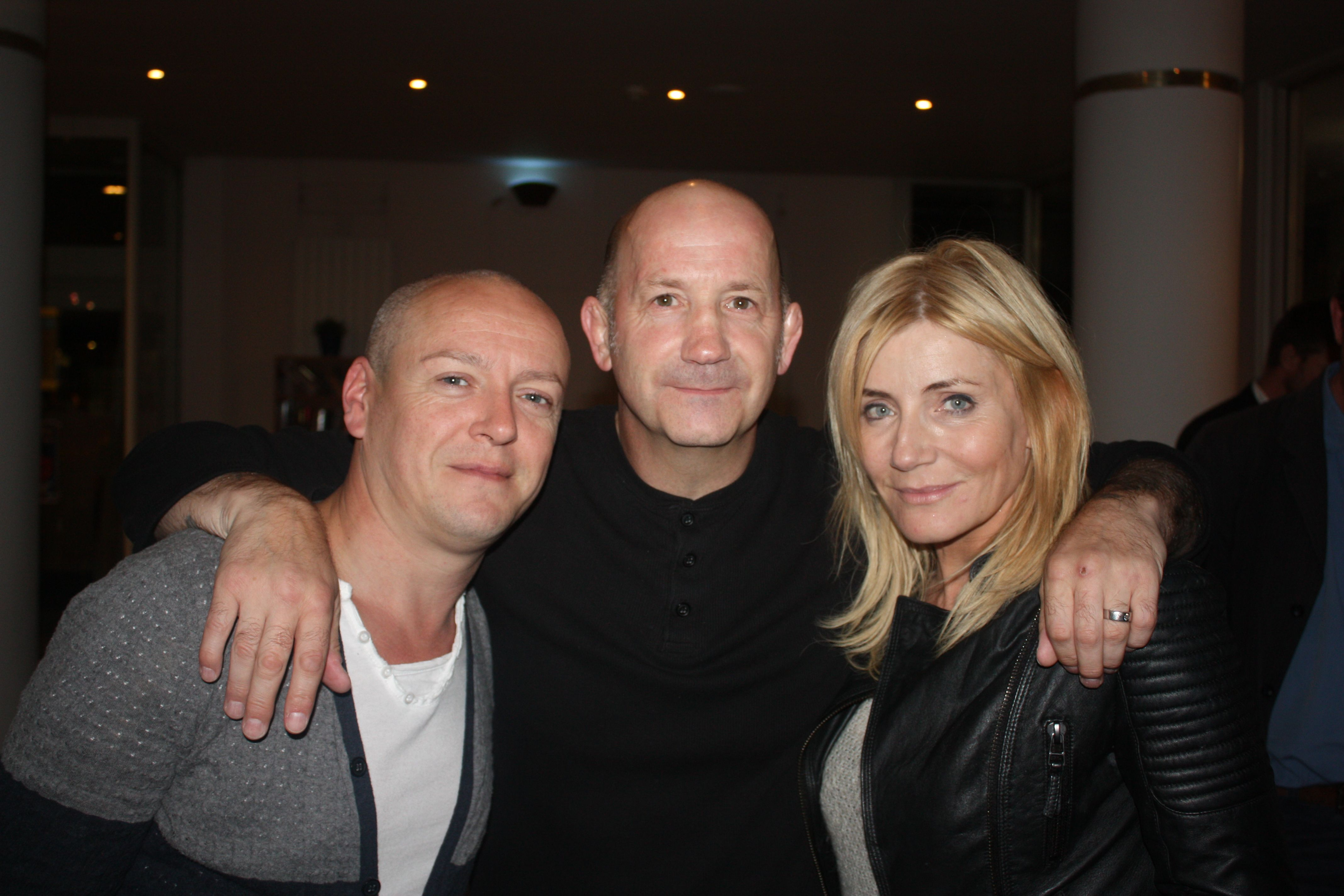 Craig conway geoff thompson and michelle collins at