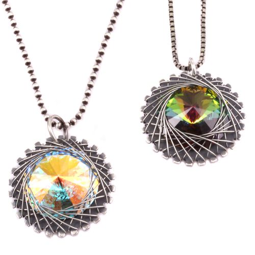 Spiro Pendant Fun Look Free Instructions Uses 28 G Wire