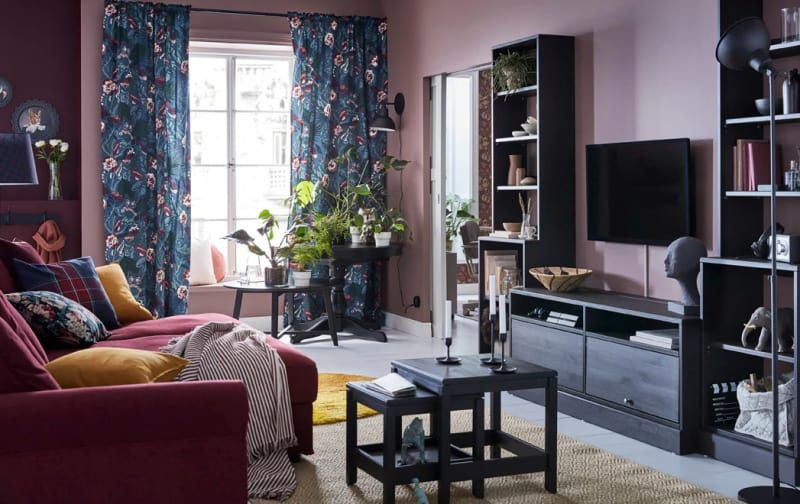 10 Colorful Living Room Ideas To Steal From Ikea Cheap Living