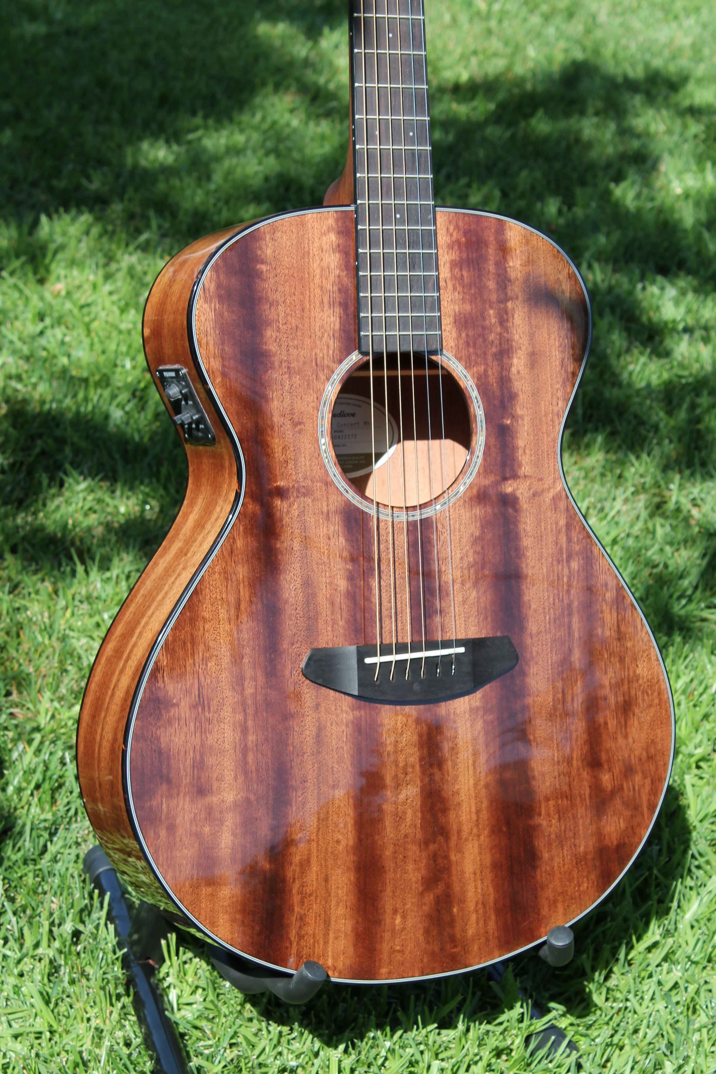 Breedlove Pursuit Concert Mahogany Acoustic Electric Guitar Pics Cool Guitar Acoustic Instrument