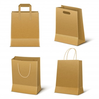 Download Brown Paper Bag Vector Google Search Paper Shopping Bag Bag Set Brown Paper Bag