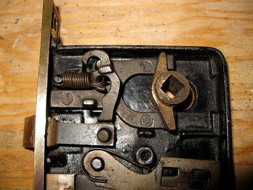 Cleaning And Repairing An Antique Mortise Door Lock Door Locks
