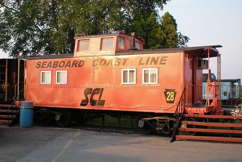 Railroad Caboose Hunt Seaboard Coast Line Caboose